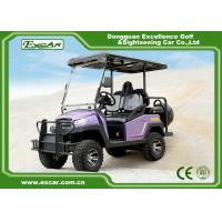 Buy cheap EXCAR Electric Hunting Buggy For Club Course With Onboard Charger from wholesalers
