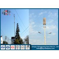 Buy cheap H25m Q235 Q345  Mobile Cell Phone Tower with Powder Coated for Broadcasting from wholesalers