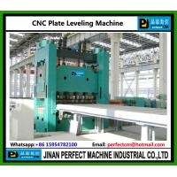 China CNC Plate Straightening Machine Plate Leveling Machine China top Supplier on sale