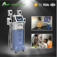 Buy cheap 4 handles fat freezing Cryolipolysis cold body sculpting machine from wholesalers