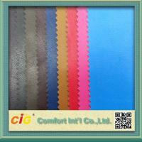Buy cheap 0.4mm Colorful PU Synthetic Leather / Artificial Leather Fabric For Bag from wholesalers