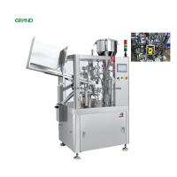 Buy cheap Stable Tube Filling Sealing Machine For Toothpaste Cream Cosmetic ZHY-60YP from wholesalers