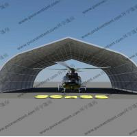 Buy cheap Movable Curved Temporary Tent Buildings For Helicopter Hanger , No Door from wholesalers
