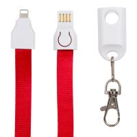 China Fast Charge USB Port Extension Cable Lanyard 3 In 1 For Smartphone Portable on sale