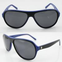 Buy cheap Handmade Round Acetate Frame Sunglasses Protect Eyes From UV product