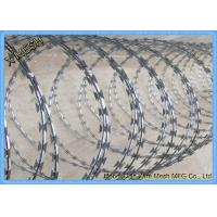 Buy cheap Stainless Steel Cbt-60 Crossed Razor Wire Security Fence with Clips from wholesalers