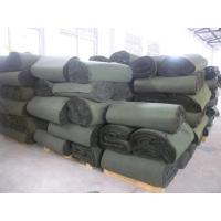 Buy cheap army green waterproof canvas fabric from wholesalers