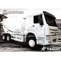 Buy cheap HOWO 6x4 ENGINE POWER 336HP, MIXING CAPACITY 8CBM CONCRETE TRUCK from wholesalers