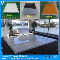 Buy cheap RK fire-proof plywood  4*4ft dance floor tiles used led dance floor for sale from wholesalers