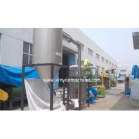 Buy cheap PET bottle crushing machine / plastic washing machine for recycling  500kg/hr from wholesalers