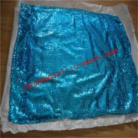 Buy cheap Cheap metal sequin glittering curtain for party from wholesalers