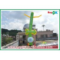 Buy cheap Logo Printing Inflatable Sky Dancer Twin Legs For Festival Celebration from wholesalers