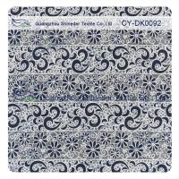 Buy cheap Cotton Polyester Burn Out Lace Fabric Custom Printed For Children Garment from wholesalers