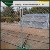 Buy cheap Safety Temporary Construction Chain Link Fence With Vertical Brace / Cross Brace from wholesalers