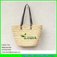 Buy cheap LUDA wholesale lady's basket bag handmade water grass straw bags from wholesalers