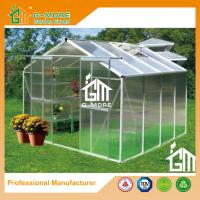 Buy cheap Aluminum Greenhouse Manufacturer Traditional Series Aluminum/Polycarbonate Hobby Greenhouse - 8'x8'x6.7'FT from wholesalers