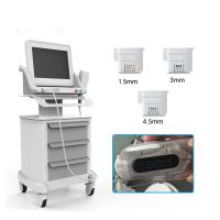 Buy cheap CE Approval Anti-wrinkle Facial Lifting HIFU machine With three cartridge from wholesalers