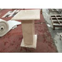 Buy cheap Onyx Coffee Table Square Marble Table Top Sunny Beige Color Honed Finishing from wholesalers