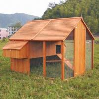 Buy cheap Wooden Chicken House with Removable Perches and Lined Cavity-roof, Measures 244 x 269 x 196cm from wholesalers