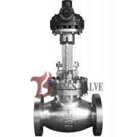 Buy cheap API Cast Steel Butt Weld Globe Valve Hardfaced HF Bolted Bonnet Bevel Gear Operated 900LB from wholesalers