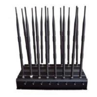 Buy cheap 16 Antennas High Power Jammer CDMA GSM DCS PHS PCS 3G WCDMA 4G LTE from wholesalers