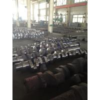 Buy cheap ABS, DNV, BV, NK,CCS Approved Custom Forged Alloy Steel Crank Shaft Forging Ratio >4.5 from wholesalers