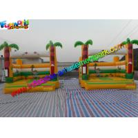 Buy cheap Popular Palm Tree Commercial Bouncy Castles Inflatable Bouncer House 4m x 4m x 3.5m from wholesalers