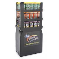 Buy cheap Easy Assembling Cardboard Point Of Purchase Displays Uv Coating For Promotion from wholesalers
