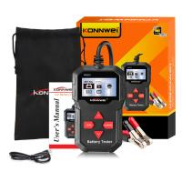 China Household Battery Capacity Tester Konnwei KW210 STM32F103VCT6 Chip Solution on sale