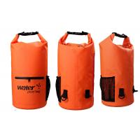 Buy cheap 20l Heavy Duty Dry Storage Bags 0.5mm Thickness With Mesh / Front Zipper Pocket from wholesalers