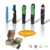 Buy cheap FTTH SC LC FC ST Fiber Fast Connector , Fiber Optic Fast Quick Connector from wholesalers
