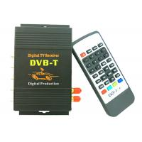 China DVB-T MPEG-4 Box 4 Video output, dual antenna Car DVB-T MPEG-4 Digital TV Dual Tuner TV Receiver Mini TV Box  DVB-T618 on sale
