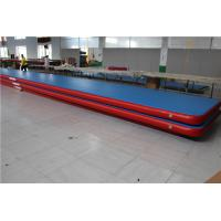 Buy cheap Kids Gymnastic Club Blow Up Gymnastics Mat , Inflatable Cheer Mat Long Life Span from wholesalers