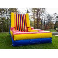 Buy cheap velcro inflatable sticky jump walls bouncy castle from wholesalers