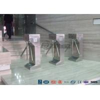 Buy cheap Vertical Tripod Access Control Turnstiles Semi - Auto Compact For Outdoor from wholesalers