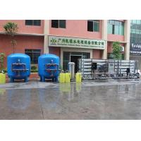 Buy cheap Water Treatment Industrial Reverse Osmosis Water System , 50T Demineralized RO Membrane System from wholesalers
