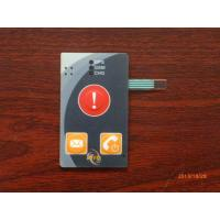 Buy cheap Graphic Membrane Overlay Keypads For Control Board , 250V DC Insulation Resistance from wholesalers