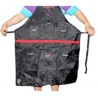 Buy cheap 320D high quality oxford fabric cooker apron with many bag for spices and beer capopener from wholesalers