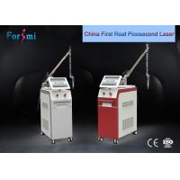 Buy cheap top quality power 1500 mj 4-6ns capsuloto nd yag lazer tattoo removal machine from wholesalers
