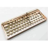 Buy cheap CNC Machining Customized Aluminum Products Mechanical Keyboard Frame from wholesalers