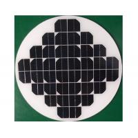 Buy cheap Water Pump System Round Solar Panel 3.2mm Thickness Low Iron Tempered Glass from wholesalers
