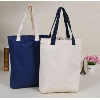 Buy cheap Large Capacity Promotional Canvas Tote Bags With Logo Printed , Digital Printing from wholesalers