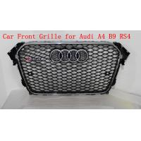 Buy cheap Front Grill With Parking Sensor Hole A4 B9 RS4 Grille For Audi 2013 up Q4 Q5 Q6 Q7 A4 A5 A6 A7 from wholesalers
