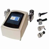 Buy cheap Ultrasound 40KHZ and vacuum Bipolar RF handle cavitation slimming machine from wholesalers