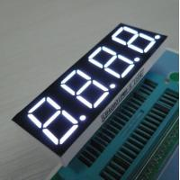 Buy cheap White 4 Digit 7 Segment LED Display For Induction Cooker , Low Current Operation from wholesalers