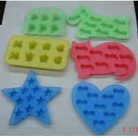 Buy cheap Coloured Kids Silicone Kitchen Utensils Heart Shape Abrasion Resistant from wholesalers