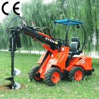 Buy cheap small front end loader DY620 with earth auger from wholesalers