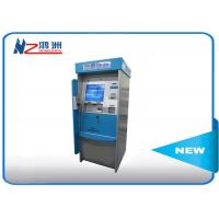 Buy cheap High Brightness Card Dispenser Kiosk With ID Card Scan Issuing For Hotel Check In from wholesalers