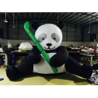 Buy cheap PVC Tarpaulin Inflatable Advertising Products Panda Figurines Black And White from wholesalers