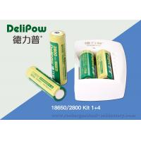 Buy cheap Battery Charger 18650 Lithium Rechargeable Battery With 3 Years Cycle Life from wholesalers